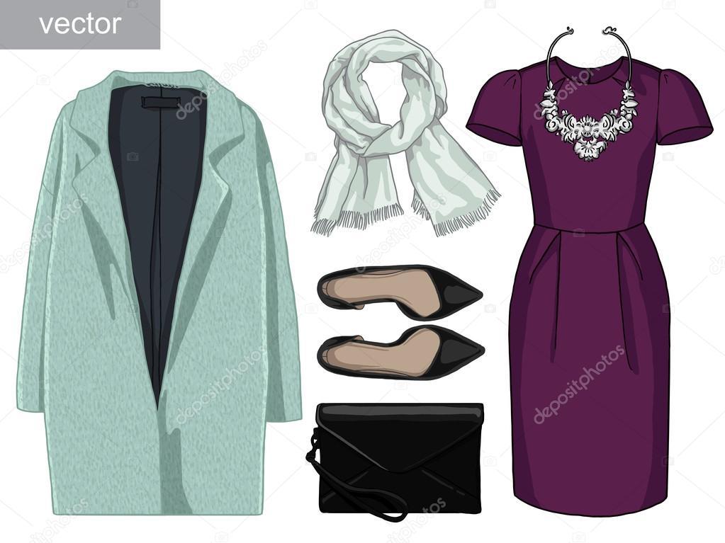 006a2e60a9ffee Lady mode ingesteld van de herfst