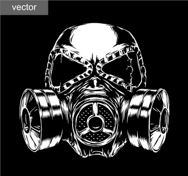 gas mask illustration