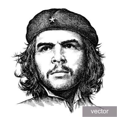 illustration of Comandante Che Guevara