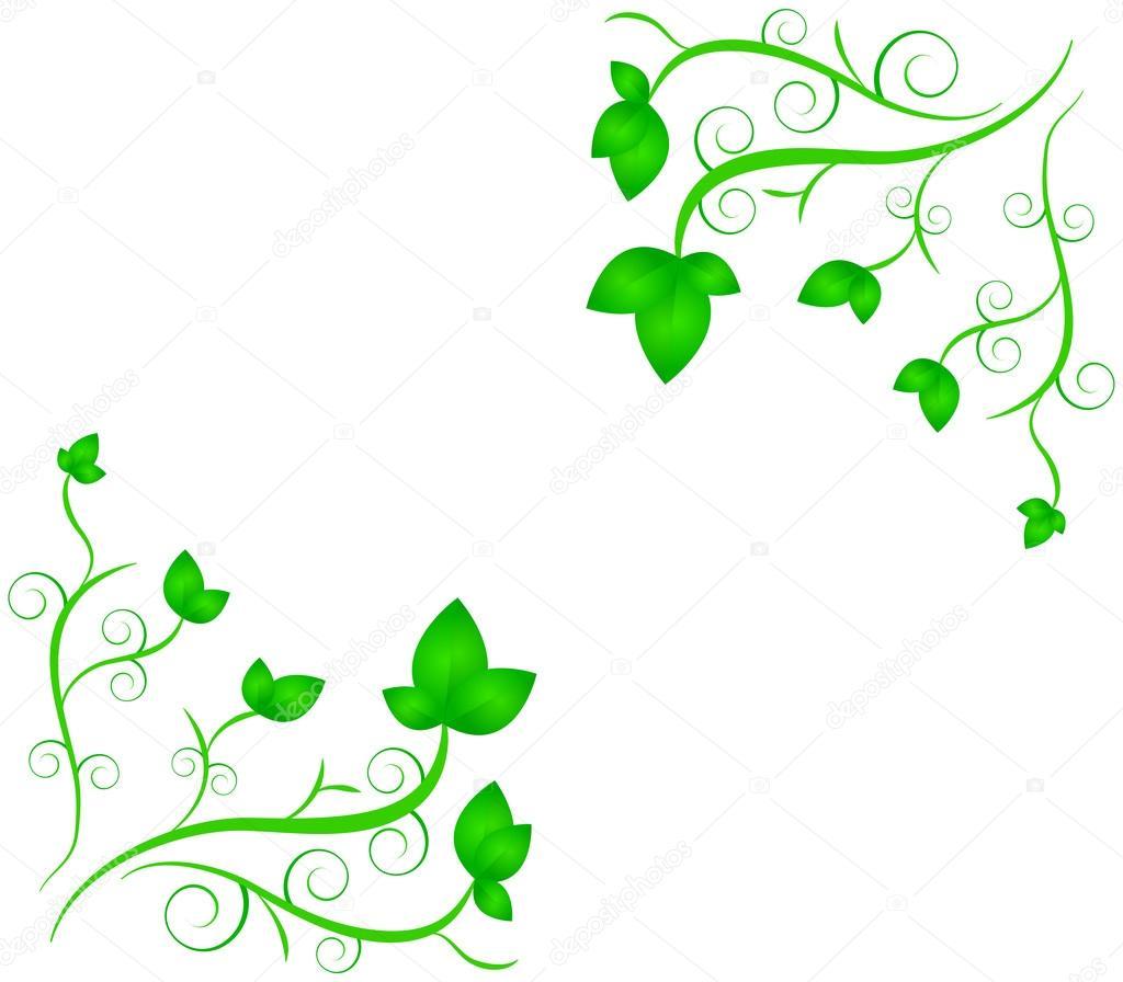 Dibujos decoraciones de flores y plantas de primavera for Dibujos de decoracion