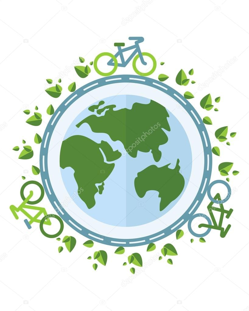 biking keep the air clean on the planet