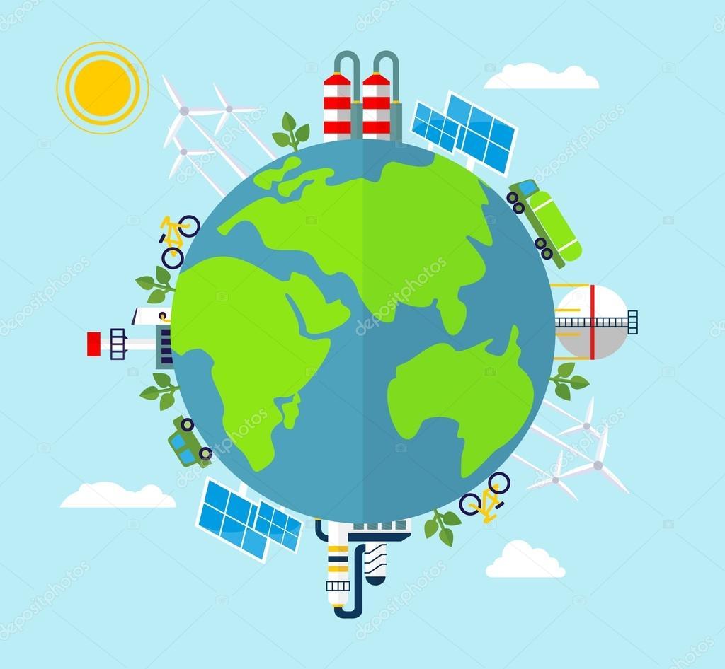 Solar energy, wind energy