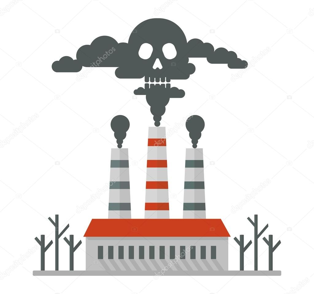 plant pollutes air deadly smoke