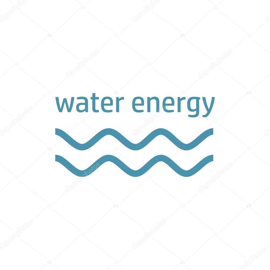 Green Energy Logo Wind Stream Stock Vector Quarta 111505296