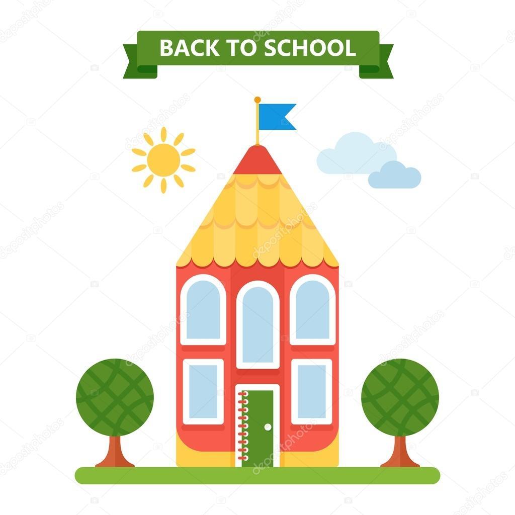 de vuelta a la escuela — Archivo Imágenes Vectoriales © quarta ...