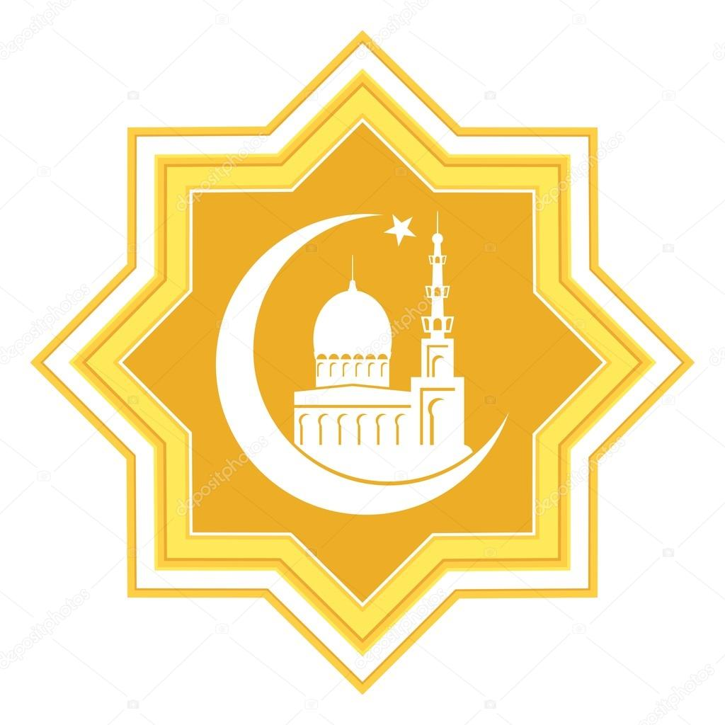 Background Islami Masjid Kartun