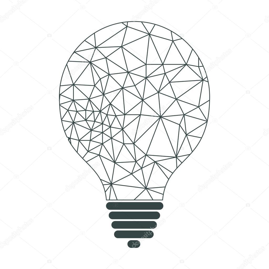 lamp connection lines — Stock Vector © quarta #122063924