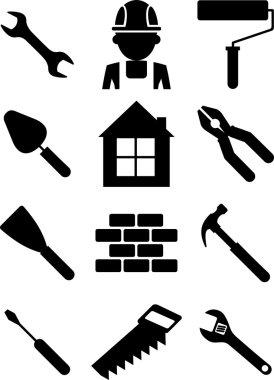 Set of building tools 01