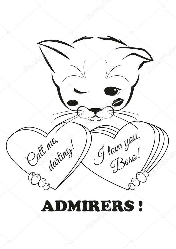Boso and valentines. Admirers