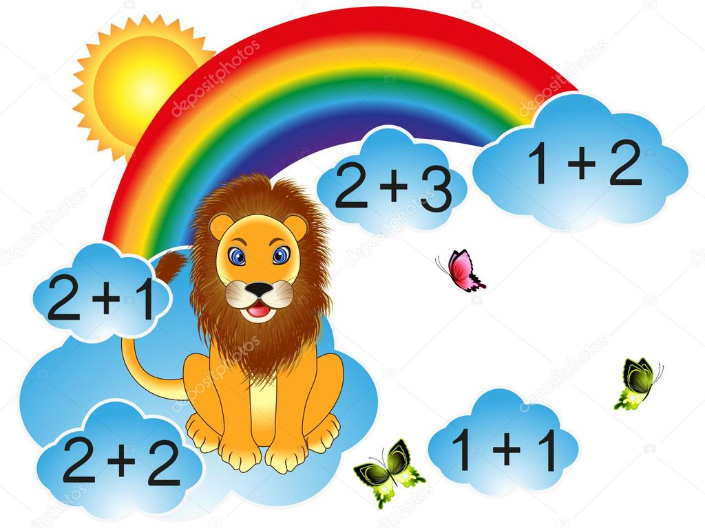 Educational games for children, for the calculation.