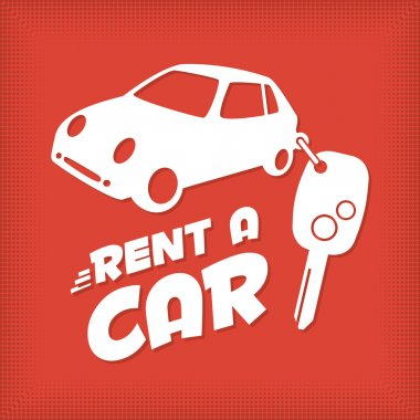 Rent a car design template