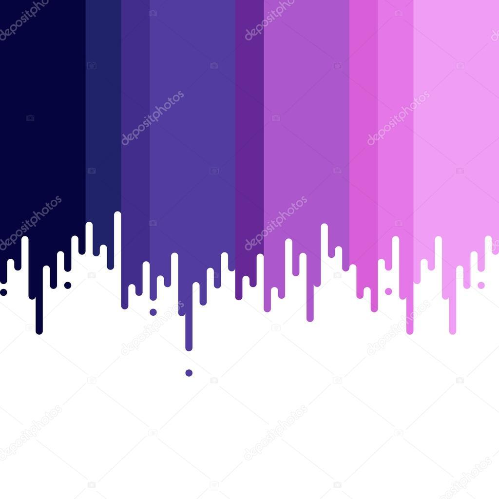 Peinture Violet dégoulinant de peinture violet — image vectorielle shekularaz