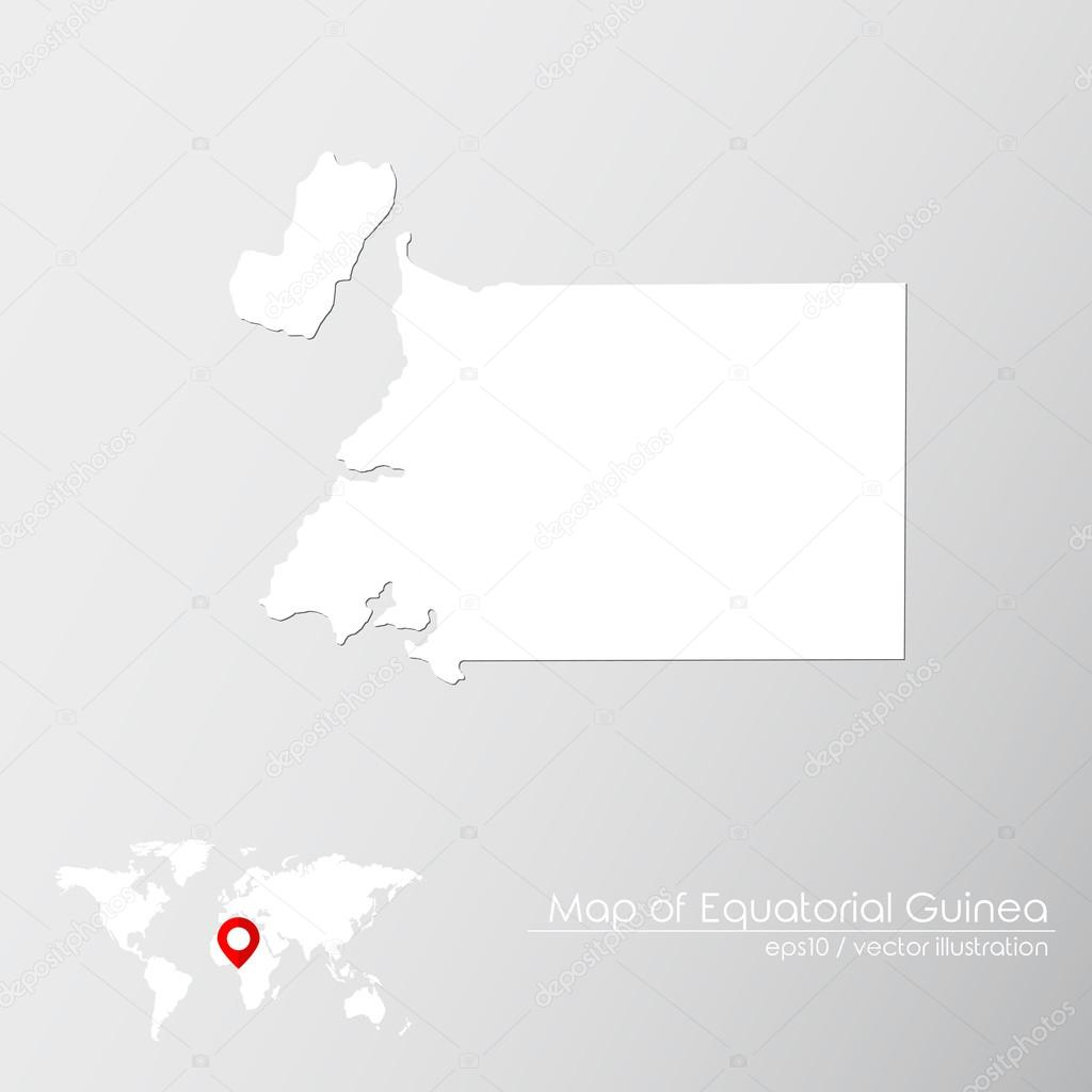 Equatorial Guinea On World Map on equatorial guinea africa, ghana world map, cape verde world map, equatorial guinea on map south america, malabo map, equator location on map, heremakono on the location of guinea africa map, tunisia world map,