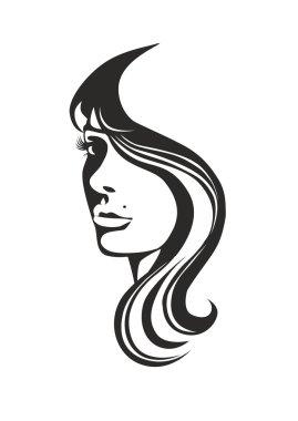 """Картина, постер, плакат, фотообои """"Лицо девушки"""", артикул 92129956"""