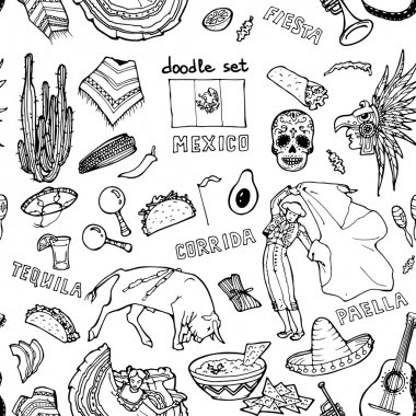 pattern of mexican stuff