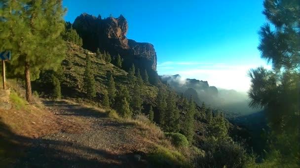Ayacata mountainous landscapes . Gran Canaria.