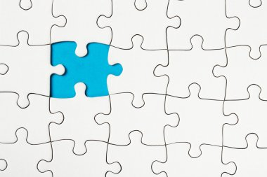 Missing piece in a puzzle, business conception