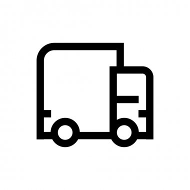 Delivery line icon