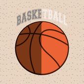 Basketbal ikony designu, vektorové ilustrace