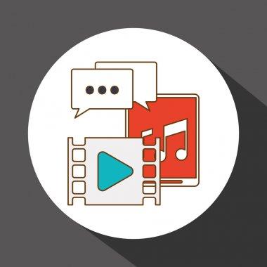 App icon design, vector illustration