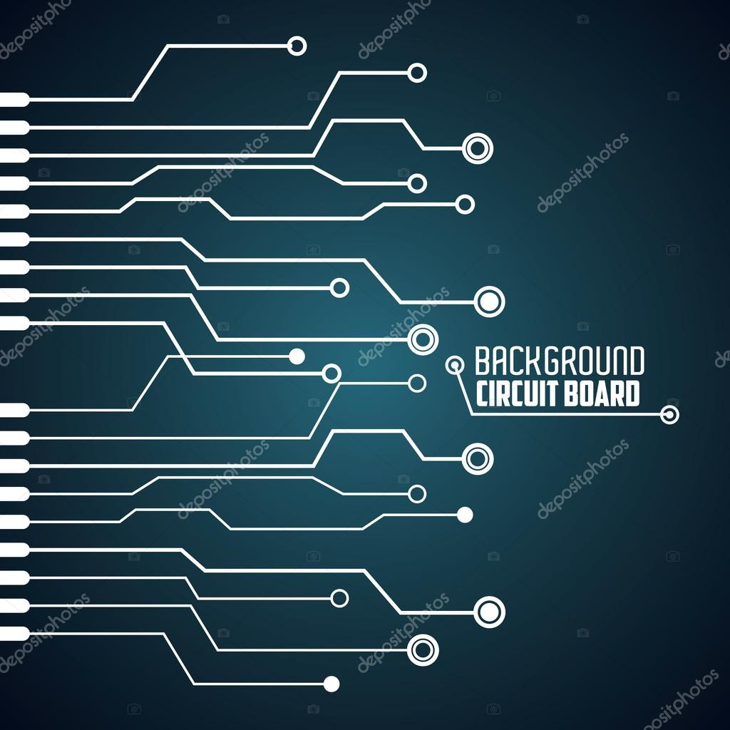 Circuit board design. technology and electronic concept — Stock ...