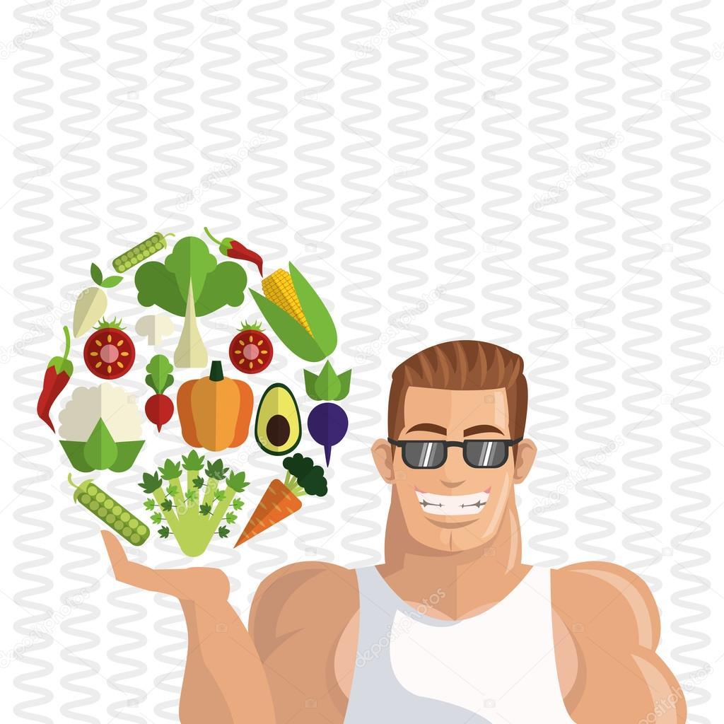 Imágenes Animadas De Habitos De Vida Saludable Alimentos