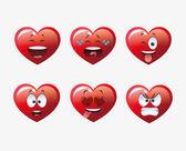 Heart shape cartoon