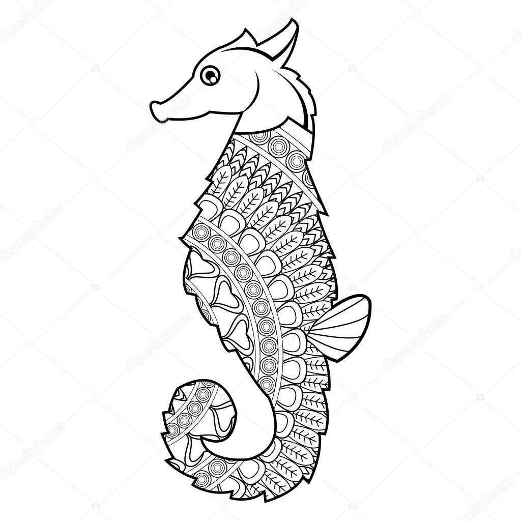 Mandala Denizatı Simgesi Stok Vektör Jemastock 115250606