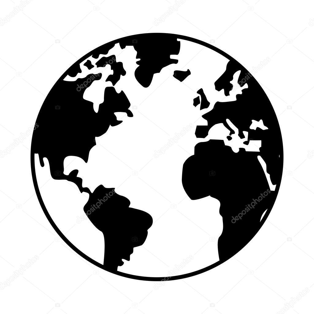World map globe earth icon stock vector jemastock 116010392 world map globe earth icon stock vector gumiabroncs Gallery