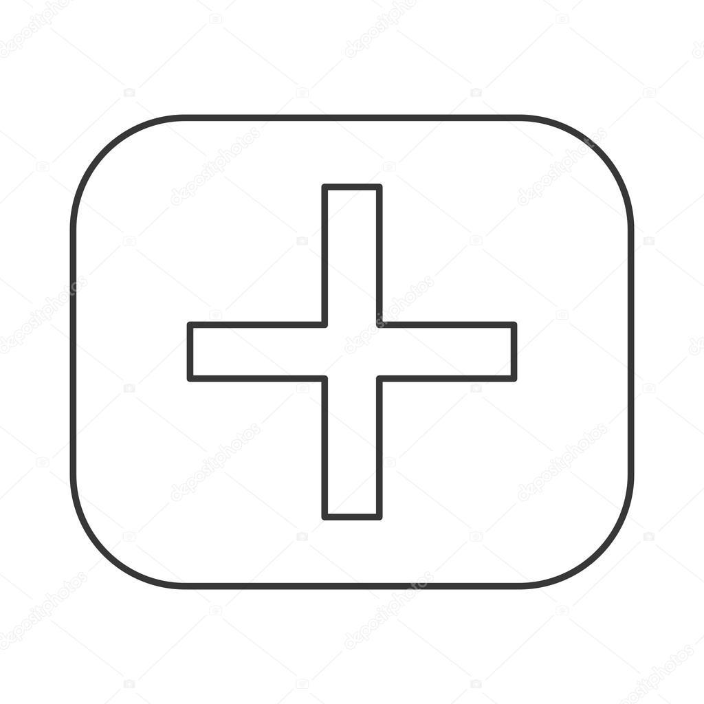 Icne De Symbole Math Addition Image Vectorielle Jemastock
