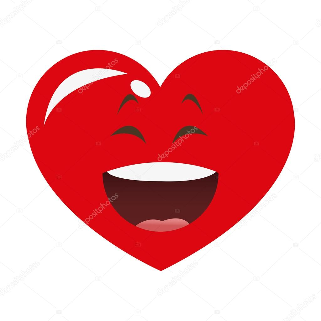 Love coach de Valérie Mas Depositphotos_116084186-stock-illustration-laughing-heart-cartoon-icon