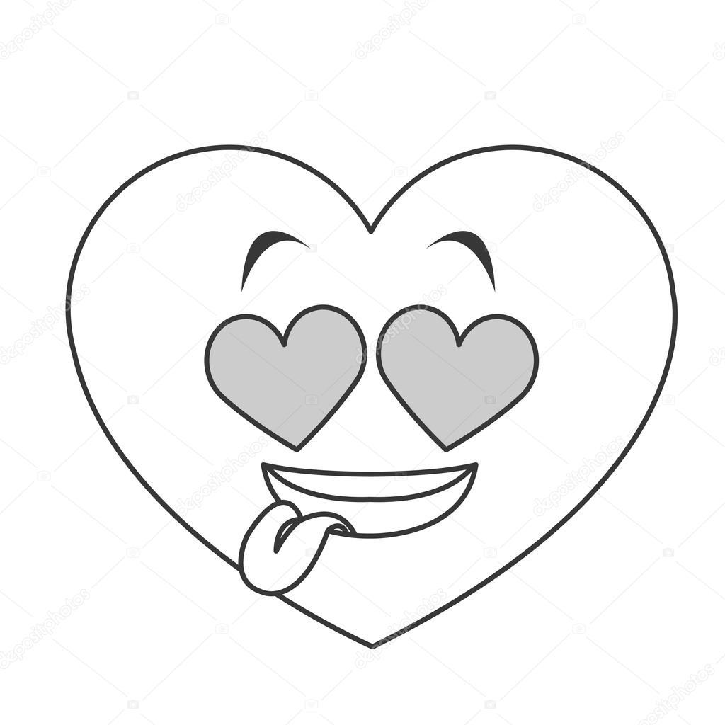 Srdce Oci Srdce Kreslene Ikony Stock Vektor C Jemastock 116286372
