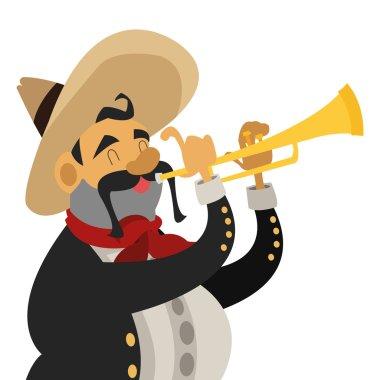 mariachi musician icon
