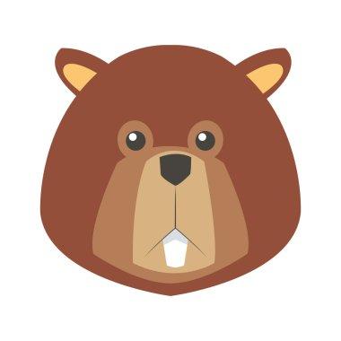 single beaver icon