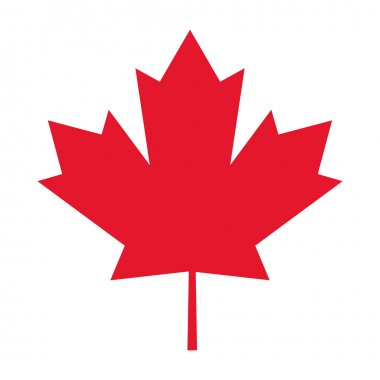 canada flag maple leaf icon