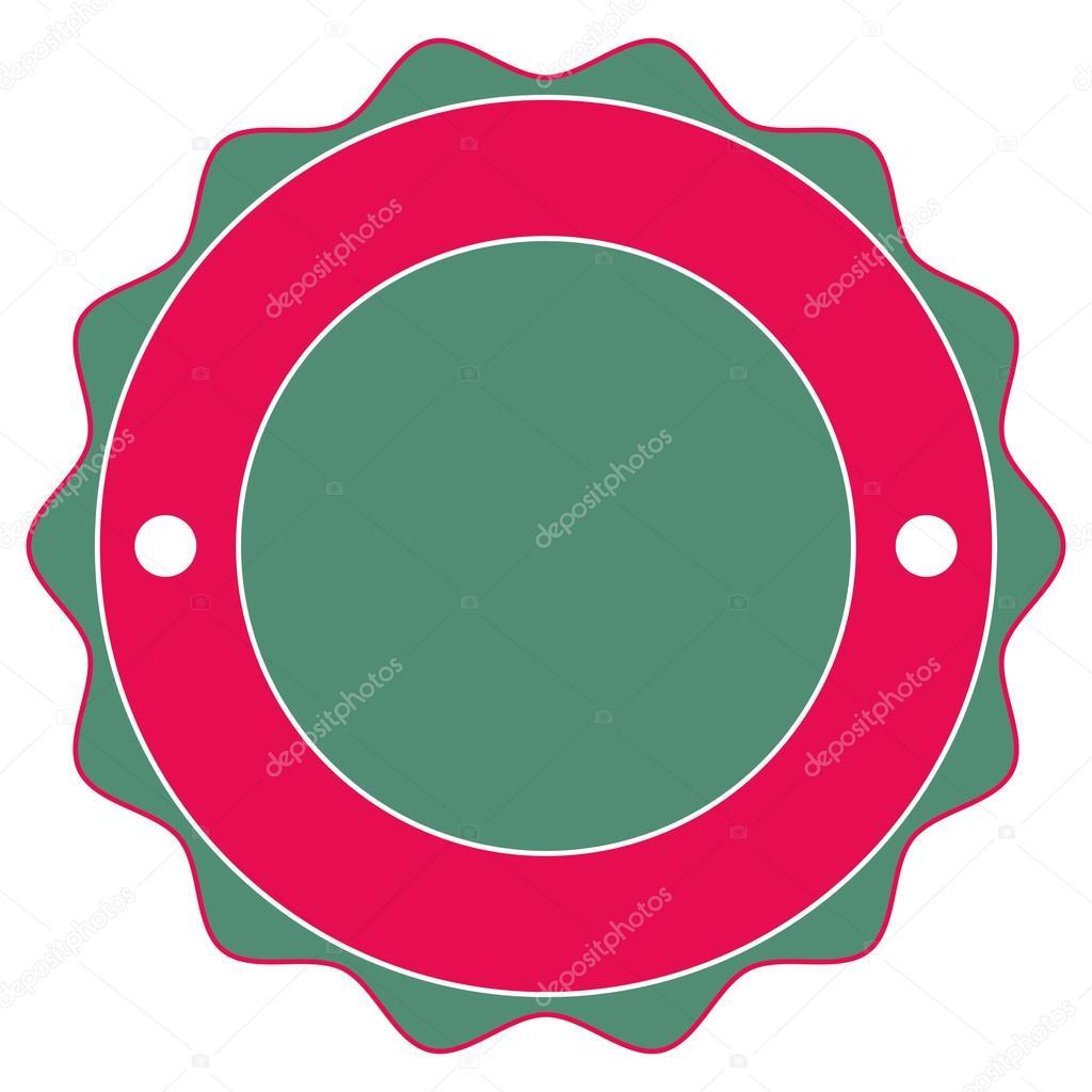 round badge icon stock vector jemastock 118530806
