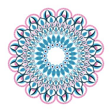 colorful intricate mandala icon