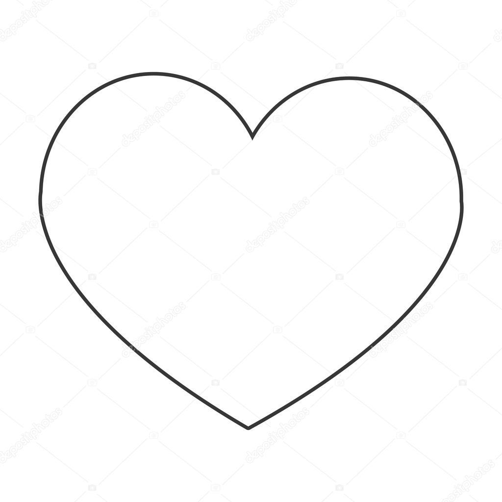 srdce kreslen u00e9 ikony stock vektor  u00a9 jemastock 118691658 heart clip art black and white png heart clipart black and white free