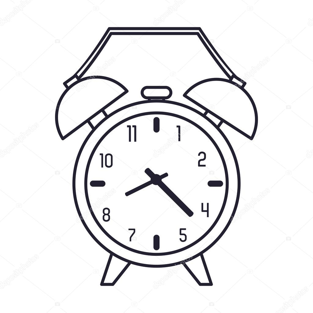 analog alarm clock icon — Stock Vector © jemastock #120405072