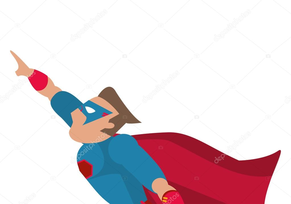 Disegno fumetti di supereroi avatar superman u vettoriali stock