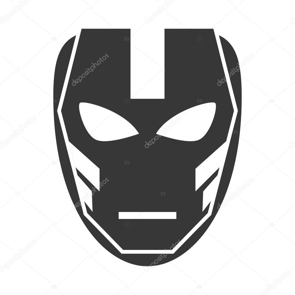 Conception De Masque Super Héros Superman Image