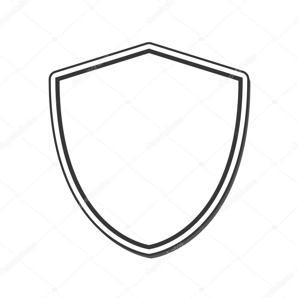 diseño de etiqueta de seguridad protector marco — Archivo Imágenes ...