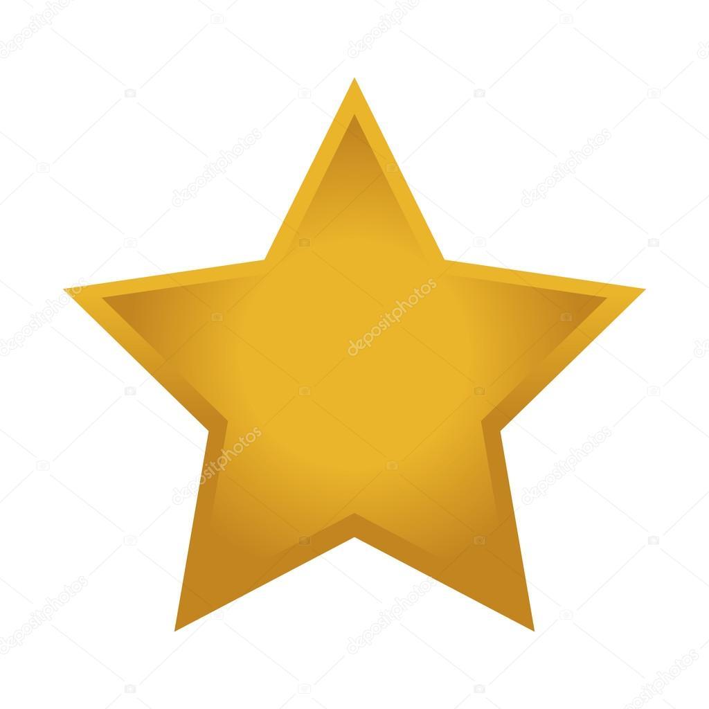 картинка звезда жёлтая