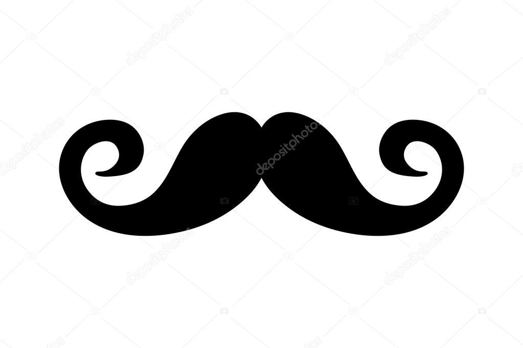 mustache male hair design \u2014 stock vector © jemastock 121417180mustache male hair design \u2014 stock vector