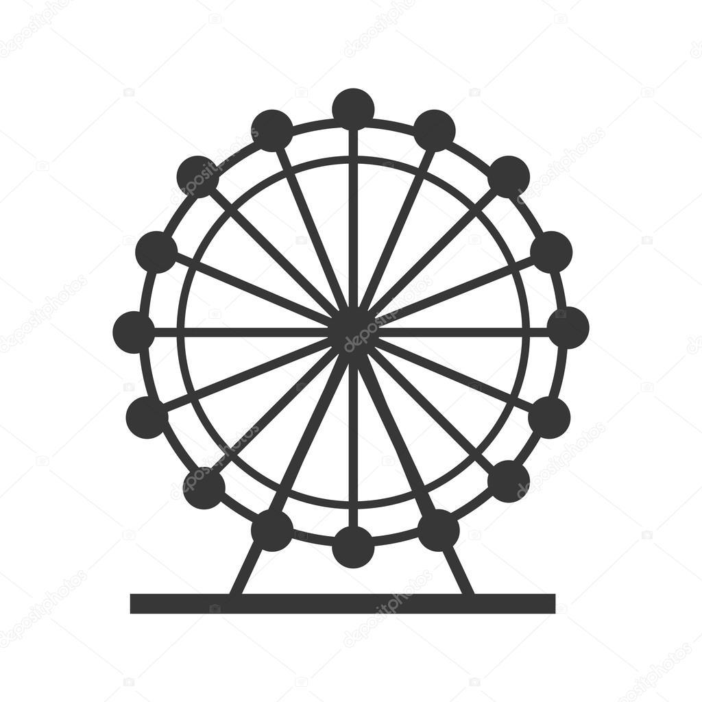 London Eye England Design Stock Vector