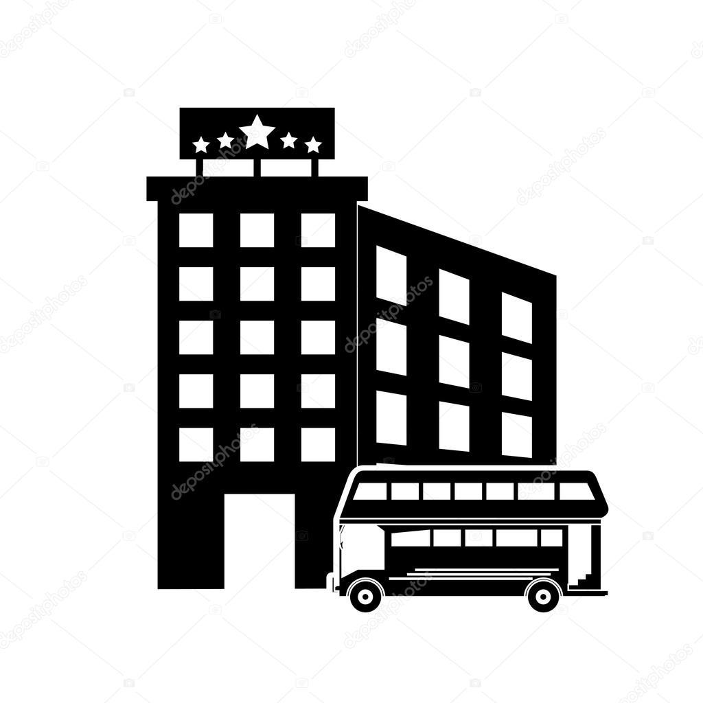 Resultado de imagem para hotel e onibus icon