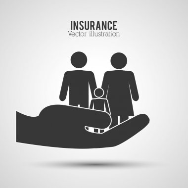 Insurance icons design