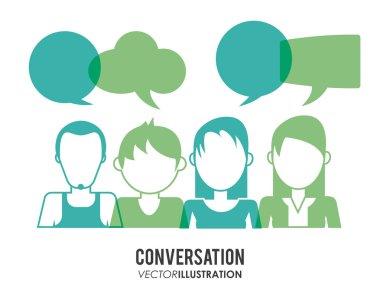 Conversation icons design