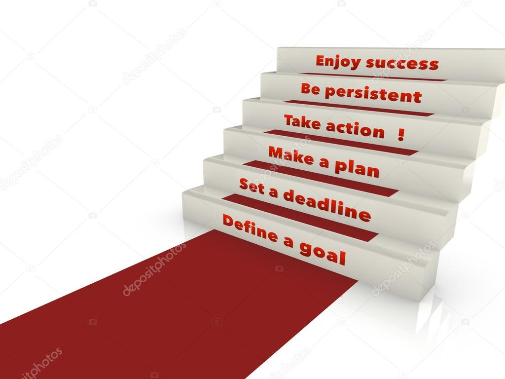 Steps To Success Stock Photo C Beebright 87435152
