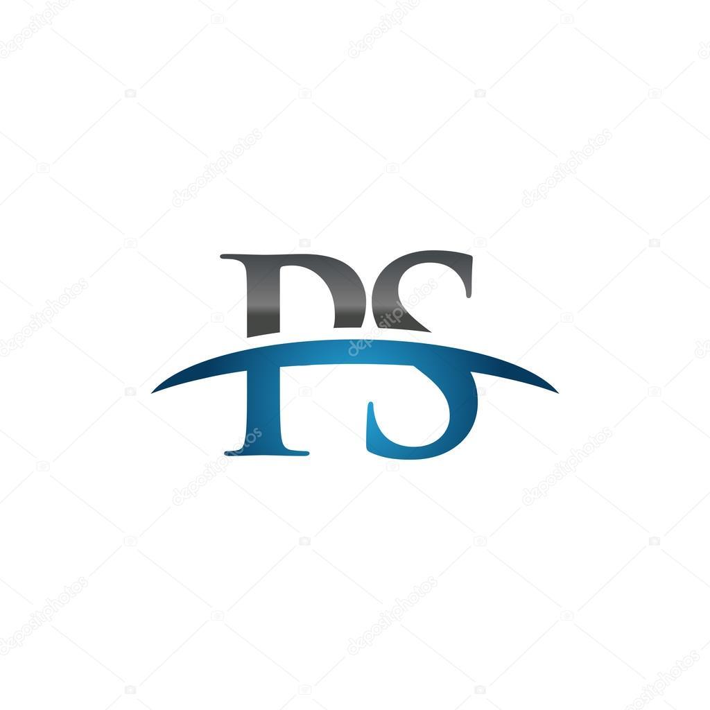 Initial letter ps blue swoosh logo swoosh logo stock vector initial letter ps blue swoosh logo swoosh logo stock vector thecheapjerseys Choice Image
